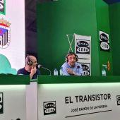 Fernández Vara en el especial de El Transistor en Badajoz