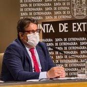 Vergeles recuerda que las aglomeraciones siguen prohibidas ante el Badajoz-Amorebieta por el ascenso a Segunda