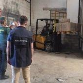 La Guardia Civil interviene en una operación contra el narcotráfico en una nave de Alcalá de Guadaíra