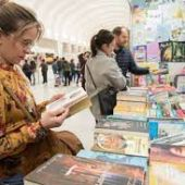 Una imagen de archivo de la Feria del Libro en el Espacio Séneca