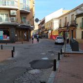 Eje de las calles Ángel-Talamanca