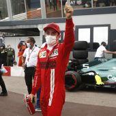 Resultado clasificación GP de Mónaco de F1: Leclerc firma la 'pole' y Sainz saldrá cuarto