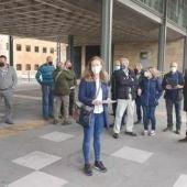 Reciente concentración de los profesionales del campo en Oviedo