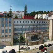 Fachada del colegio El Pilar, de los maristas de Vigo