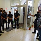 Quintanar incorpora a los cuatro nuevos Policías
