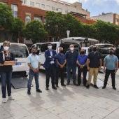 Los 5 nuevos taxis adaptados se han presentado en Ciudad Real