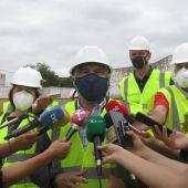 Las obras del campo de fútbol 11 junto al Seminario de Badajoz finalizarán este verano