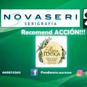Recomend ACCION!!! con Alma Meiga