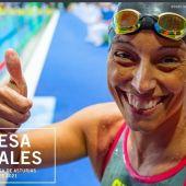La campeona paralímpica de natación, Teresa Perales, premio Princesa de los Deportes