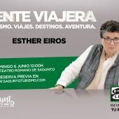 Gente Viajera, con Esther Eiros se emitirá en directo desde el Teatro Romano de Sagunto el domingo 6 de Junio