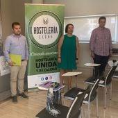 Cruz Peral apoyando al sector de la hostelería