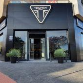 El local de Triumph Málaga en la Avenida José Ortega y Gasset