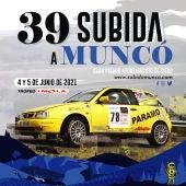 Cartel de la 39 Subida a Muncó
