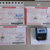 Imagen de las recetas falsificadas por las dos detenidas.