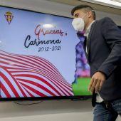 Carmona se despide del Sporting.