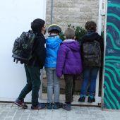 Reapertura de la escuela de Almedíjar.