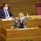 La diputada de Ciudadanos en Les Corts, Mamen Peris