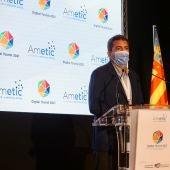 Carlos Mazón en la inauguración del foro Digital Tourist de Benidorm
