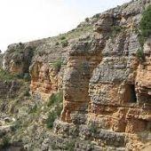El Acueducto Romano discurre por los términos municipales de Albarracín, Gea y Cella