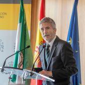 Fernando Grande-Marlaska, en un acto en Cádiz