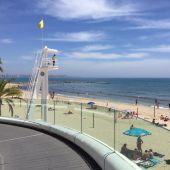 Playa de 'El Postiguet'- Alicante