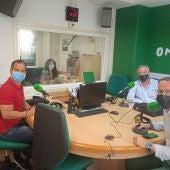 Jose Navarro, Mayte Vilaseca, Juan Antonio Alberdi y Héctor Díez