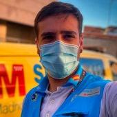 Jorge Prieto, enfermero del 112