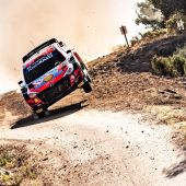 Dani Sordo en el Rally de Cerdeña