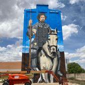 Don Quijote de La Mancha preside ya el Silo de Alcázar