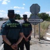 La Guardia Civil de Montilla