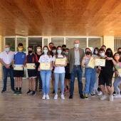 Jiménez entrega los premios del Concurso de Booktubers