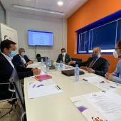 El director general de Programas de Empleo visita las instalaciones de Almida