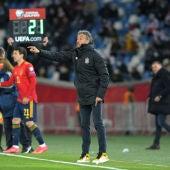 Alineación de España y Portugal hoy en el partido internacional amistoso