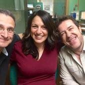 Luz, Pedro y Rafa