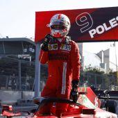 Resultado clasificación GP de Azerbaiyán de F1: Leclerc firma la 'pole', Sainz quinto y Alonso noveno