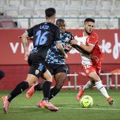Alineación de Almería y Girona en el partido de playoff de ascenso a primera división