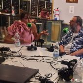 Candela Peña y Bob Pop charlan con David Martos durante su entrevista en Kinótico por 'Maricón Perdido'