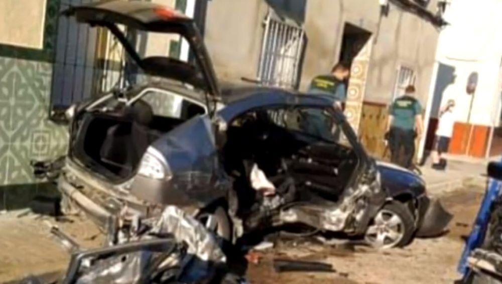 Imagen del accidente en Argamasilla de Alba, Ciudad Real