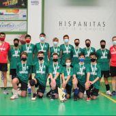 Los infantiles del Salesianos CV Elche, campeones autonómicos en la fase disputada en Petrer.