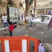 Niños y mayores participan en las actividades de Sadeco con motivo del Día Mundial del Medio Ambiente
