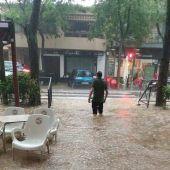 La tormenta dejó en Tomelloso 53,4 litros por m2