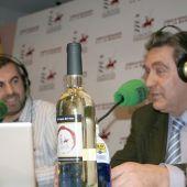 Gregorio Martín Zarco junto a Carlos Alsina