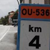A Xunta inicia a mellora do firme na OU-536 no Pereiro de Aguiar