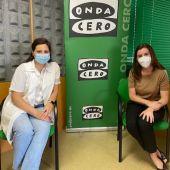 De izquierda a derecha: Noelia López y Lucía Saborido