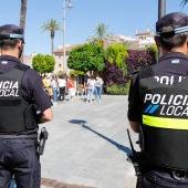 Agentes de la Policía Local de Mérida