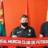 Mario Simón aterriza en el Real Murcia