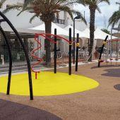 El puerto de la Savina cuenta ya con un nuevo parque infantil