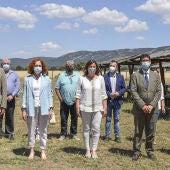 Las autoridades han asistido a la puesta en marcha del Plan de Sostenibilidad de Cabañeros