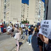 Instantes de la manifestación
