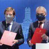 Los alcaldes de Madrid y Badajoz instan a los gobiernos de España y Portugal a priorizar la conexión Madrid-Lisboa